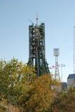 Fusée de Soyuz Images libres de droits