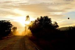 Fusée de Sun photographie stock libre de droits