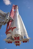 Fusée de vaisseau spatial Photo libre de droits