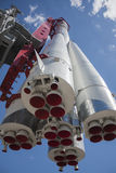 Fusée de vaisseau spatial images libres de droits