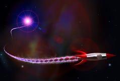 fusée rapide Image libre de droits