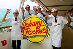 Fusées de Johnny sur   Image stock