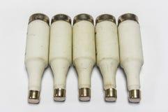 Fusíveis ou interruptores Fotografia de Stock Royalty Free