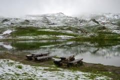 Fuscher Lacke, alta strada alpina di Grossglockner, Austria Immagini Stock Libere da Diritti
