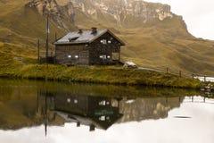 Fuscher lake National Park Hohe Tauern, Austria stock photography