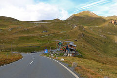 Fuscher lake at the roadside of the Grossglockner high alpine road Royalty Free Stock Photography