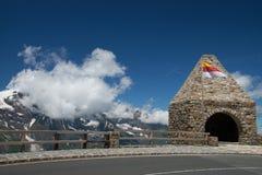 Fuscher Toerl, alta strada alpina di Grossglockner, Austria Fotografia Stock Libera da Diritti