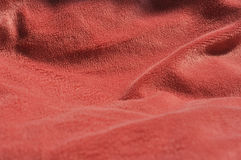 Fuschia bed sheet background Royalty Free Stock Photo