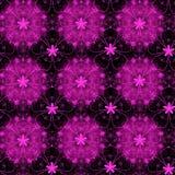 Fuschia floral pattern Royalty Free Stock Photo