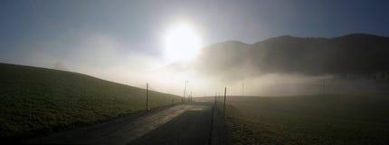 fuschl к путю Стоковая Фотография