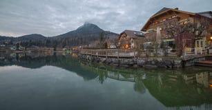 Fuschl am Widzii, Austria zdjęcia royalty free