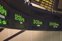 Fuseaux horaires Photo stock