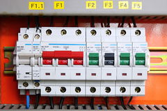 Fusebox Royalty Free Stock Photo