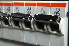 Fusebox Abschluss oben Lizenzfreie Stockbilder