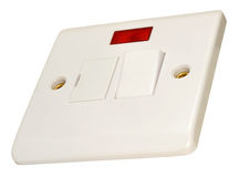 Fused Wall Switch Fitting Royalty Free Stock Photo