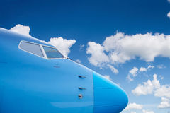 The fuselage of an airplane Royalty Free Stock Photography