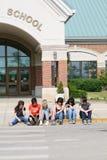 Fuselage d'étudiant Images libres de droits
