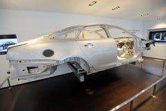 Fuselage d'aluminium de xj de Jaguar Image libre de droits