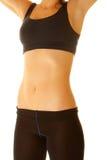 Fuselage de femme de forme physique photo stock