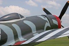 Fuselage du coup de foudre P-47 Image stock