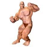 Fuselage humain - homme musculaire image libre de droits