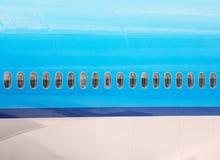 Fuselagem de aviões imagens de stock