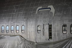 A fuselagem de Boeing 747 Fotografia de Stock Royalty Free