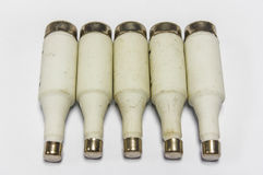 Fuses or circuit breakers Royalty Free Stock Photography