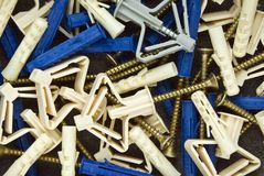 Fuses and screws Stock Images