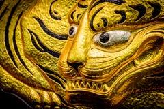 Fusetora (ä ¼  虎) Tiger Artwork (Close-upmening) Royalty-vrije Stock Foto