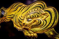 Fusetora (ä ¼  虎) Tiger Artwork (Hoogtepunt - mening) Stock Foto