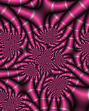 Fushia Satin Fractal Royalty Free Stock Photo