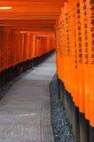 Fushimi Świątynia Inari Obrazy Stock