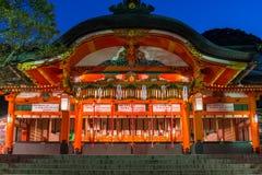 Fushimi Świątynia Inari Zdjęcia Royalty Free