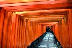 Fushimi Świątynia Inari Zdjęcie Royalty Free