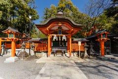 Fushimi Inari寺庙在京都 免版税图库摄影