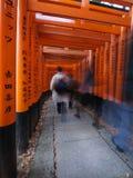 fushimi inari寺庙 免版税图库摄影