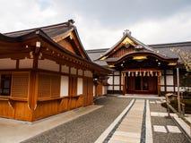 Fushimi Inari寺庙 免版税库存照片