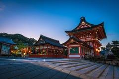 fushimi inari寺庙taisha 库存照片