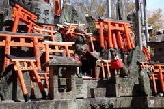 fushimi inari日本 免版税库存图片