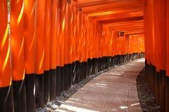 Fushimi Inari,日本 免版税库存照片