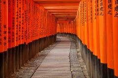 fushimi inari świątynia Zdjęcia Royalty Free