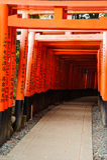 Fushimi Inari świątynia Fotografia Royalty Free