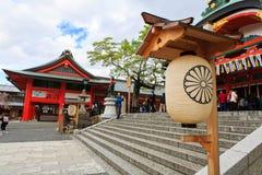 Fushimi Inari świątynia, Kyoto Zdjęcie Stock