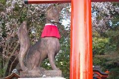 Fushimi Inari świątynia na Kyoto, Japonia Zdjęcie Stock