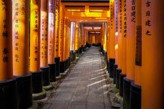 Fushimi Inari Immagini Stock Libere da Diritti