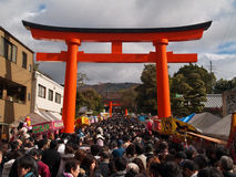 fushimi inari Fotografia Royalty Free