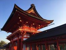 Fushimi Inari Στοκ φωτογραφία με δικαίωμα ελεύθερης χρήσης