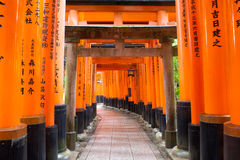 Fushimi Inari寺庙,京都,日本 免版税库存图片