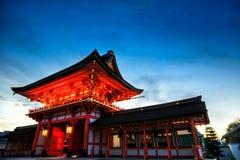 Fushimi Inari Stock Afbeelding